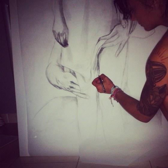 roza-geesa-progress-haura-artiste-peintre-mareille-paca