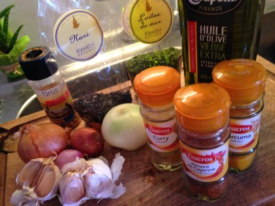 rillettes-maquereaux-ingredients