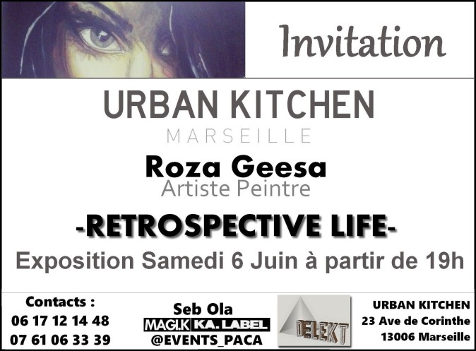 RETROSPECTIVE LIFE INVITATION EXPO